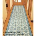 三重織 い草廊下敷 約80×350cm ネイビー TSN340504