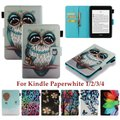 対応機種:Amazon Kindle Paperwhite 1/2/3/4兼用 素材:TPU、PUレ...