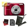 Nikon[ニコン] コンパクトデジタルカメラ COOLPIX A10 レッド