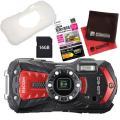 リコーイメージング (ペンタックス/PENTAX) デジタルカメラ WG-60 レッド [WG60]...