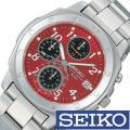 腕時計 セイコー SEIKO クロノグラフ 【型番】SND495PC【ケース】材質:ステンレススティ...