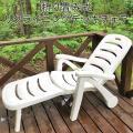デッキチェア 折りたたみ式 リクライニング チェア アウトドア 椅子 ビーチ ガーデンチェア プール...