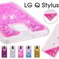 LG Q Stylusケース 背面  流砂 lg q styluカバー tpu LG Q Stylu...