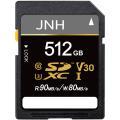 SDカード SDXCカード 512GB 超高速90MB/S Class10 UHS-I U3 V30...