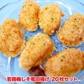 【NEW】【2パックごとに1パックプレゼント】【限定品】若鶏梅しそ竜田揚げ 20枚セット