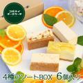 【お試し4種食べ比べセット】 砂糖無添加のドライフルーツが入った濃厚レアチーズケーキ等の 4種類のフ...