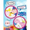 Peppa Pig and Ben & Holly's Little Kingdom Colorin...
