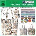 ◆ブランド:ルートート ROOTOTE フリンク JReast  鉄道ファンにはたまらないエコバッグ...
