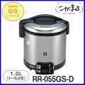 リンナイ ガス炊飯器 炊飯専用 型式 RR-055GS-D ブラック 容量 1.00L(1.0〜5....