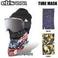 スノーボード フェイスマスク eb'sエビス TUBE MASK チューブマスク メール便配送