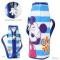 ミッキーマウス ボトルケース <ペットボトルカバー> 500mlボトル対応 <プランクミッキー柄> ...