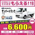 カーリース 新車 スバル サンバートラック TB 660cc 5MT 2WD 2人 2ドア