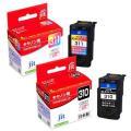 ■対応純正インク:BC-311,BC-310 ■色:ブラック+三色カラー ■インク種類:顔料+染料 ...
