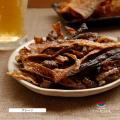 送料無料 北海道産 鮭皮チップス プレーン 35g 鮭 とば トバ 鮭とば 鮭トバ 珍味 おつまみ