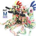 ココペリ人形 ココペリ ロコペリ R4T ハイビスカス 4カラー Mサイズ(34cm)花柄 ハワイ ...