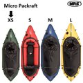 パックラフト MRS インフレータブルボート 軽量 ボート マイクロラフト XSサイズ Micror...