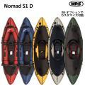 パックラフト MRS インフレータブルボート軽量 ボート スピード抜群 ノーマッドS1D スプレイデ...