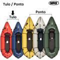 パックラフト MRS インフレータブルボート 最軽量 Tulo トゥロ 一人用 スプレイデッキなし ...