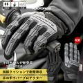 グローブ バイク 自転車 秋冬 防風 防寒 プロテクター スキー サイクルグローブ 手袋 フルフィン...