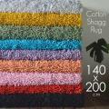 ラグマット 訳あり 洗える シャギーラグ 綿 シャギー ラグ 安い 140x200