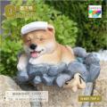 オブジェ 庭 柴犬 柴旅D 置物 樹脂製 犬の置物 ガーデニング 置物 オブジェ インテリア かわい...