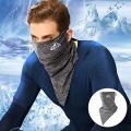 【冷感ネックガード】薄くて涼しい冷感布地で、水や汗で濡れると気化熱の作用により冷却効果があり、肌と接...