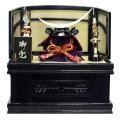 豊秀作 五月人形 兜収納飾り 紫紺飛鳥収納 伊達政宗兜
