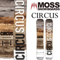 ブランド:MOSS モス モデル:CIRCUS サーカス 形状:サーカスキャンバー シェイプ:ツイン...