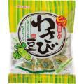 メーカー:春日井製菓   品番:7772   グリーンピースとそら豆にわさび風味をプラス。ぴりっとし...