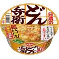 メーカー:日清食品  品番:236710  たっぷりの玉ねぎの「鬼かき揚げ」がうまい。