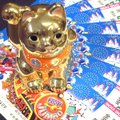 ★ここがポイント! 金運を司る黄金の招き猫です。金運を呼ぶ「金」に、金運を招く「右手」、風水的にも最...