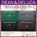ディーンアンドデルーカ 折りたたみ式 エコバッグ  DEAN&DELUCA 4色カラー  ◆サイズ◆...