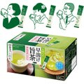 「新茶人」は、厳選された国産茶葉を使用し、AGFならではのインスタント化技術によりパウダーのひと粒ひ...