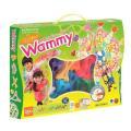 大人気のブロック「ワミー」の、たっぷり遊べるカラフル12色 +暗いところで光る蓄光グリーン、の13色...