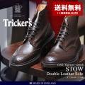 (5のつく日限定価格) トリッカーズ TRICKER'S TRICKERS ストウ ダブルレザーソー...