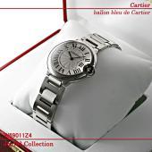カルティエ バロンブルー ドゥ カルティエ ボーイズ スティール W69011Z4 新品
