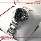 カルティエ バロンブルー ドゥ カルティエ メンズ スティール W6920042 新品。 オートマテ...
