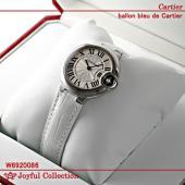 カルティエ バロン ブルー ドゥ カルティエ スティール W6920086 新品 クォーツ シルバー...