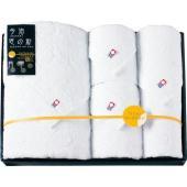 日本一のタオル産地今治で織り上げた上質なタオルに、月灯りが静かに降り注ぐような優しい水玉模様をあしら...