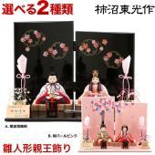 2019年度新作 雛人形 柿沼東光 特別限定品 お客様のご要望を受け制作した雛人形で、渾身のコンパク...