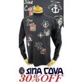 ●こちらは、シナコバメンズ2018秋冬新作商品の長袖Tシャツです。 ●秋冬限定のハイネックTシャツは...