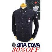 ●こちらは、シナコバメンズ2018秋冬新作商品の長袖シャツです。 ●おちゃめなドット柄がやんちゃオヤ...
