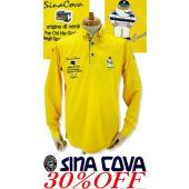 ●こちらは、シナコバメンズ2018秋冬新作商品の長袖ポロシャツです。 ●モテるゴルファーは艶感のある...