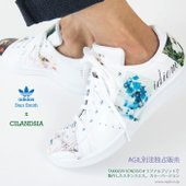 TAKASHI KONDOのプリントを、adidas stan smith(アディダス スタンスミス...