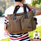 トートバッグ メンズ ビジネスバッグ ショルダーバッグ かばん 大容量 大きめ A4 撥水 出張 通...