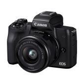 「EOS Kiss」ブランドを冠した初のミラーレスカメラに、標準ズームレンズ「EF-M15-45mm...