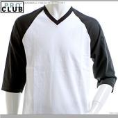 【PRO CLUB】【Tシャツ】BASEBALL V-NECK TEE COMFORT  超人気ブラ...