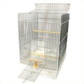 当店で一番売れてる手のり用のとりかごです!!  小鳥にやさしい手のり用のケージです。 大きく開く天井...