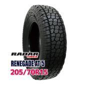 サマータイヤ ■Radar RENEGADE AT-5 205/70R15 100H:外径:669m...