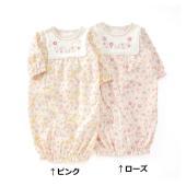 春らしいお花畑のような小花柄のベンリードレス♪柔らかなガーゼ接結は赤ちゃんにも優しい素材感♪カバーオ...